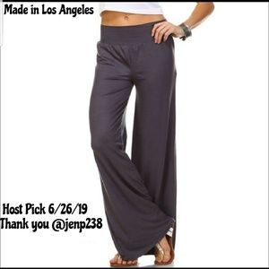 Pants - 🔥HP🔥NEW!🔥XL-3X Grey Wide Leg Palazzo Pants